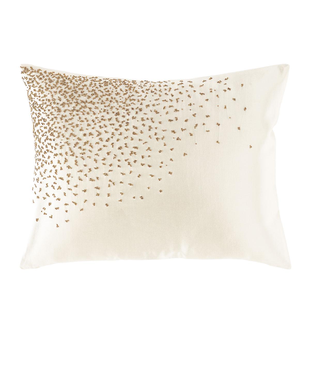 Aura Beaded Decorative Pillow