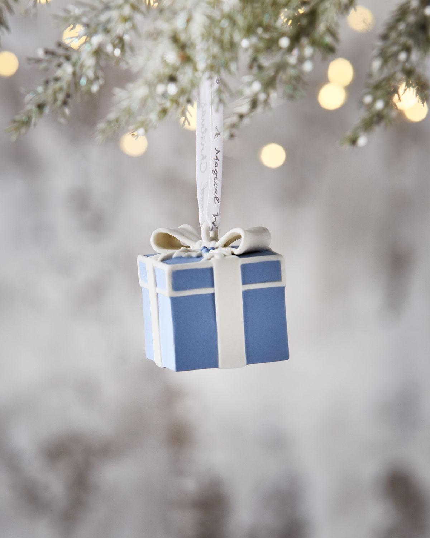 2018 Present Ornament