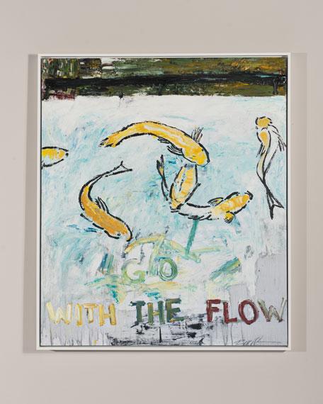 "RFA Fine Art ""Go With The Flow"" Giclee Art"