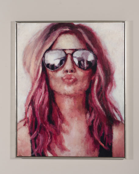 "RFA Fine Art ""Rock n' Roll"" Giclee Wall Art by Nava Lundy"