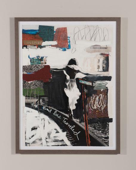 "RFA Fine Art ""Happiness Road"" Giclee Art"