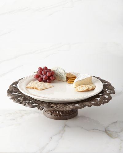 Pedestal Serving Platter