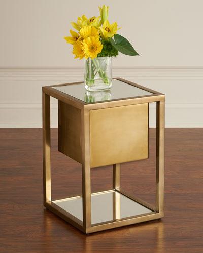Gladstone Pedestal Side Table