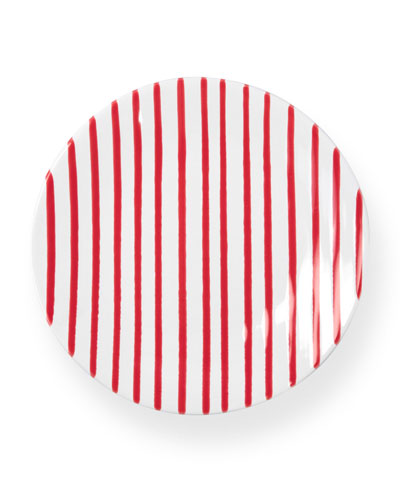 Striped Salad Plate