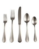 Mepra Roma Ice Champagne 5-Piece Flatware Setting