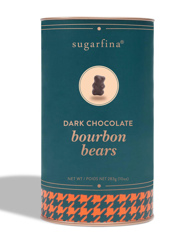 Dark Chocolate Bourbon Bears Canister