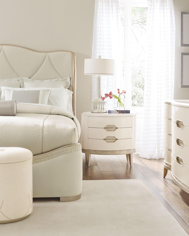 Adela Upholstered King Bed