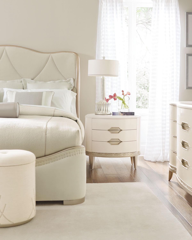 Adela Upholstered Queen Bed