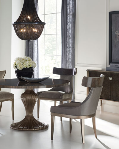 Round Table Discussion Dining Table