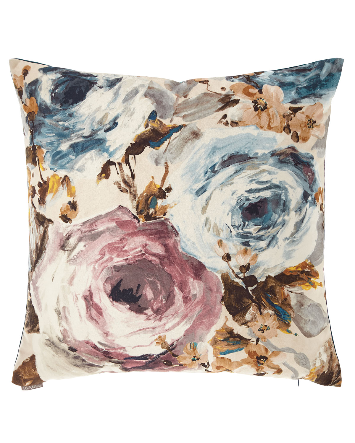 Paradiso Floral Watercolor Pillow