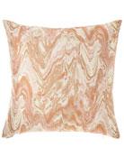 D.V. Kap Home Malta Marbleized Pillow