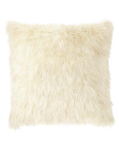 Glamour Faux-Fur Pillow