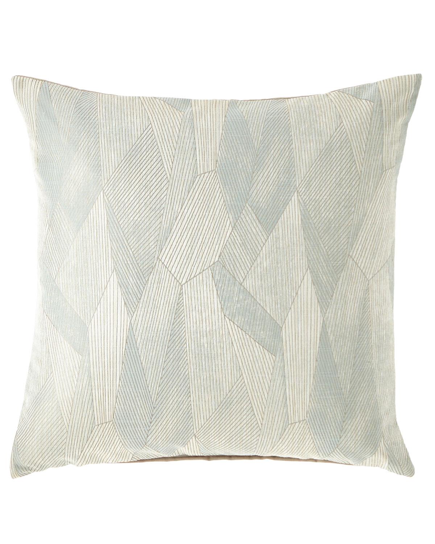 Facet Ice Decorative Pillow