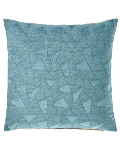 Viscose Decorative Pillows Neiman Marcus Cool Fretwork Decorative Pillow