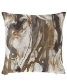 D.V. Kap Home Marvella Quartz Marbleized Pillow
