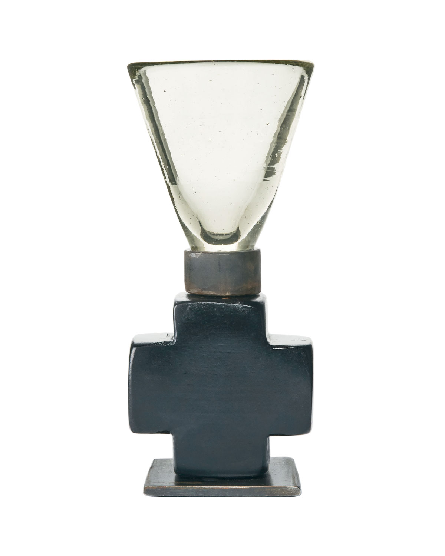 Padre-cito Cruz Cordial Glass with Iron Cross