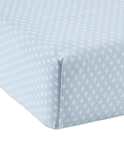 Leonie 200 Thread-Count King Fitted Sheet