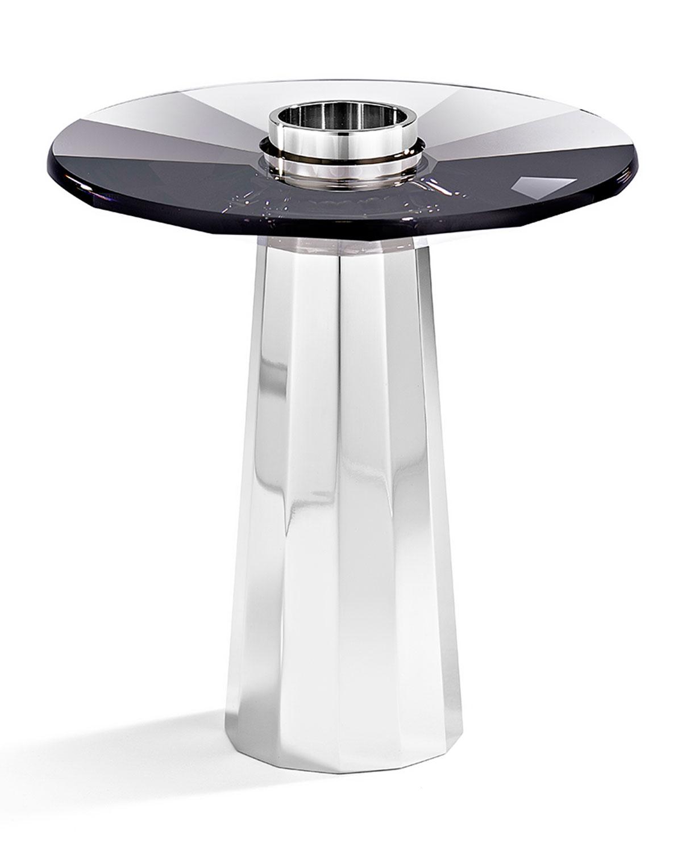 Small Plinth Candleholder, Black