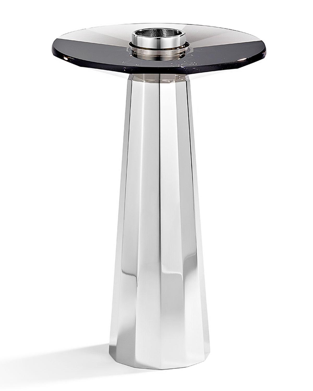 Medium Plinth Candleholder, Black