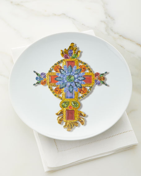 Christian Lacroix Love Who You Want Lacroix Venitienne Plate