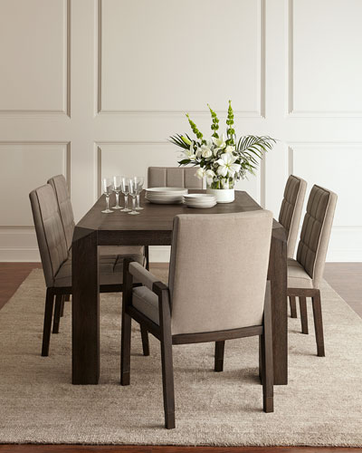 Brikelle Long Dining Table with Leaf