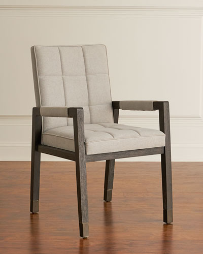 Pair of Brikelle Tufted Arm Chairs