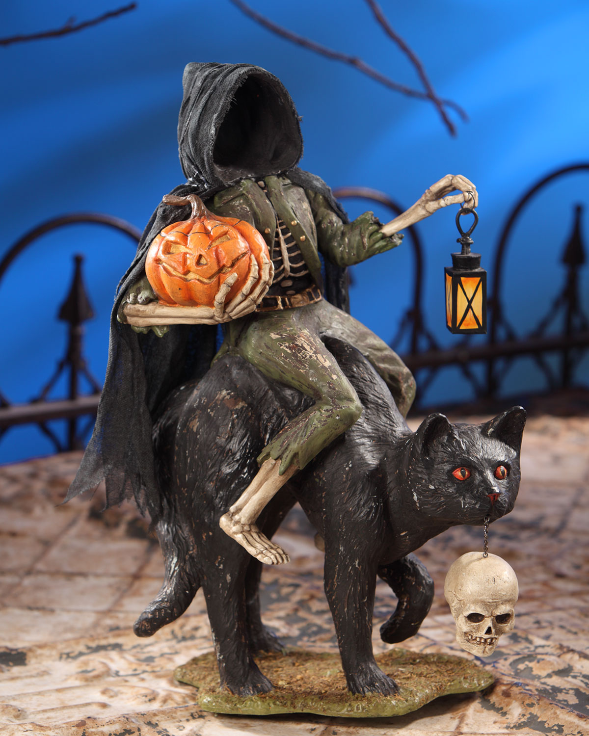 Headless Catman Halloween Decoration
