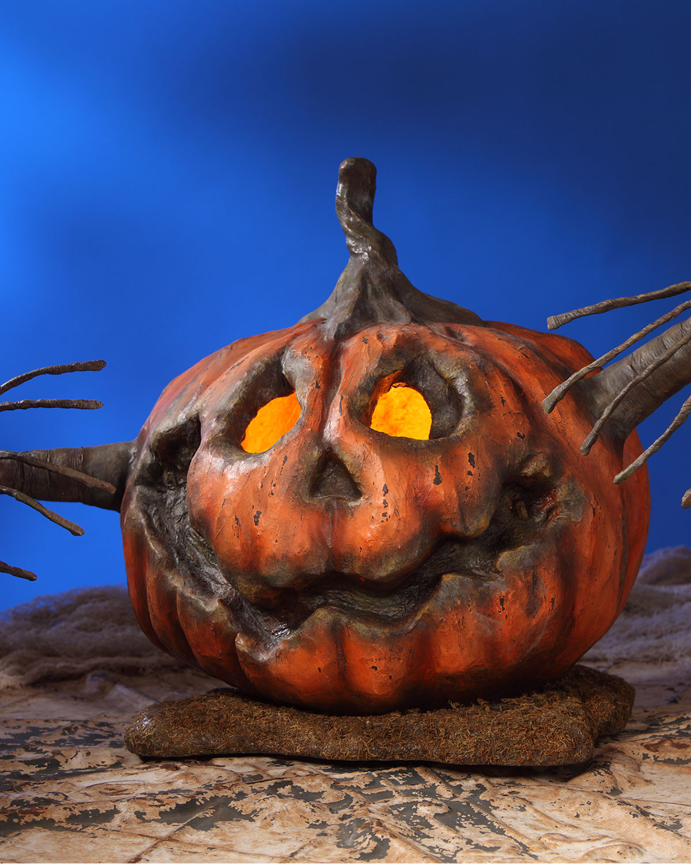 Into the Woods Pumpkin Halloween Decoration