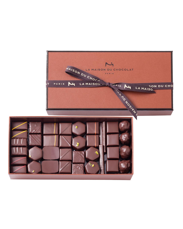 73-Piece Coffret Maison Dark Chocolate Box