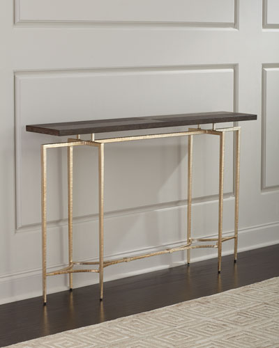 Double Diamond Console Table