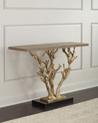 Ambella Woodland Ornate Console Table
