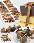 Chocolate Covered Company Deluxe Chocolate Covered Gift Tower