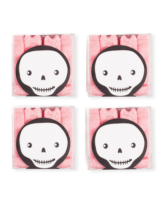 Sugar Skulls Halloween Candy Bundle, Set of 4