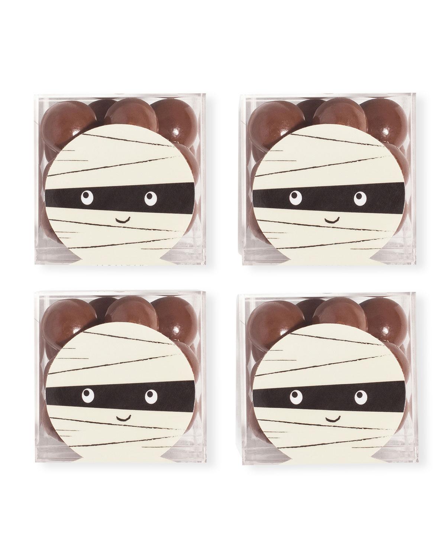 Mummy Sparkle Pops Halloween Candy Bundle, Set of 4