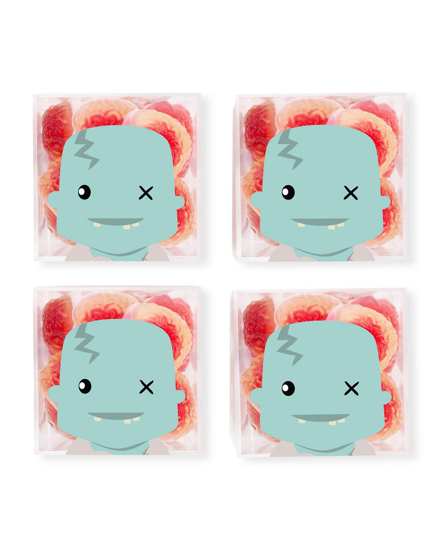 Zombie Brains Halloween Candy Bundle, Set of 4