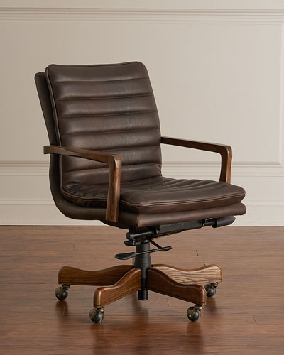 Quick Look. Hooker Furniture · Lawrence Leather Office Chair & Leather Office Chair | Neiman Marcus