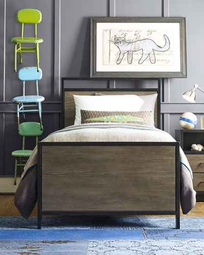 Charli Twin Panel Bed