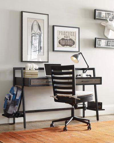 Charli Metal-Frame Desk