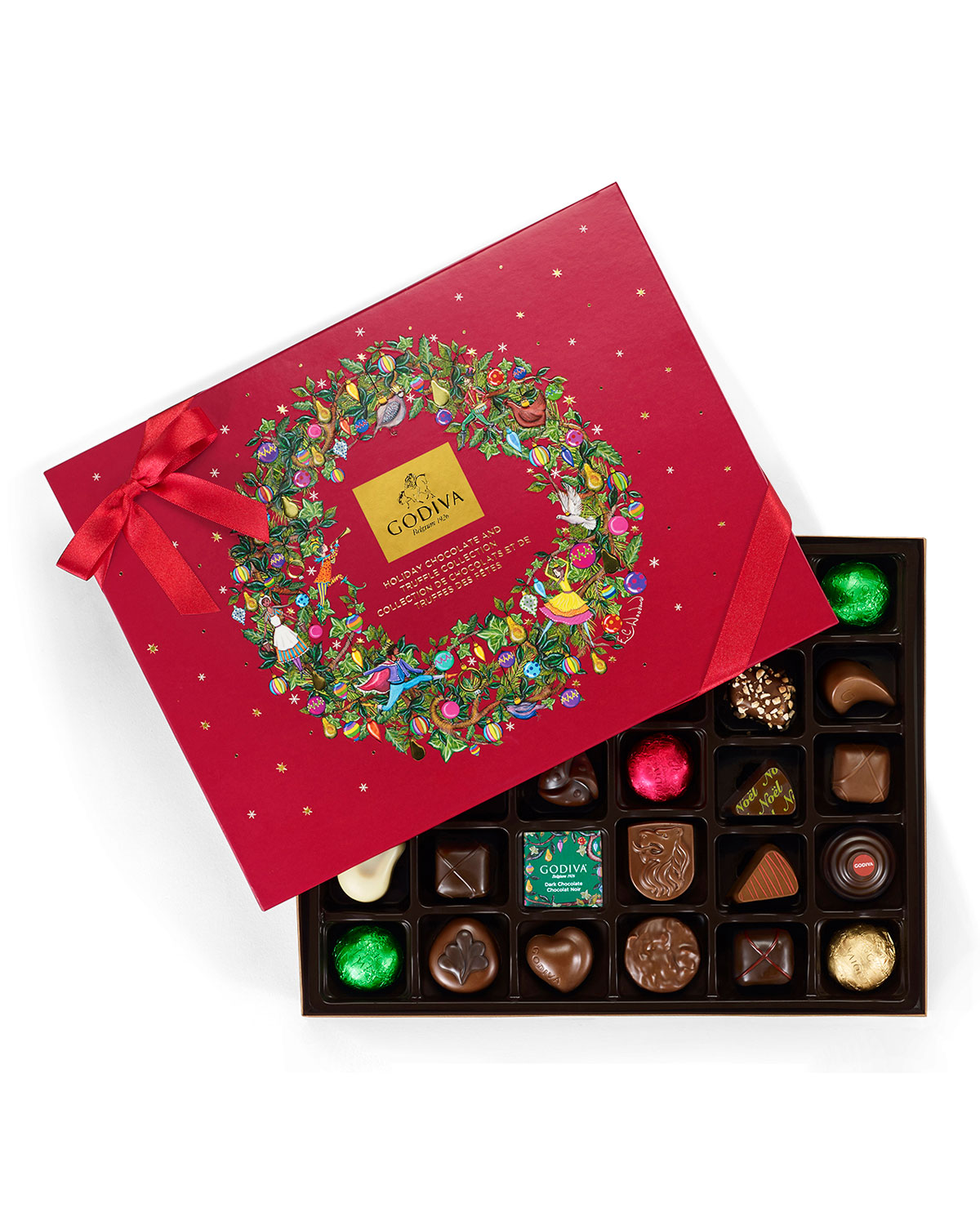 32-Piece Holiday Chocolate Gift Box