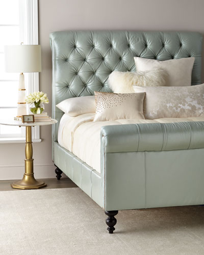 Spence Hand-Tufted King Bed