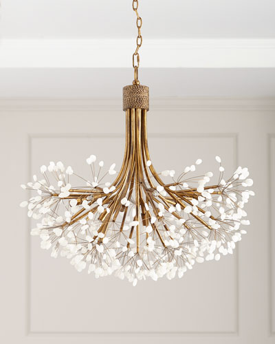 Quartz 9-Light Chandelier