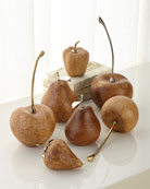 Ceramic Fruits, Set of 7