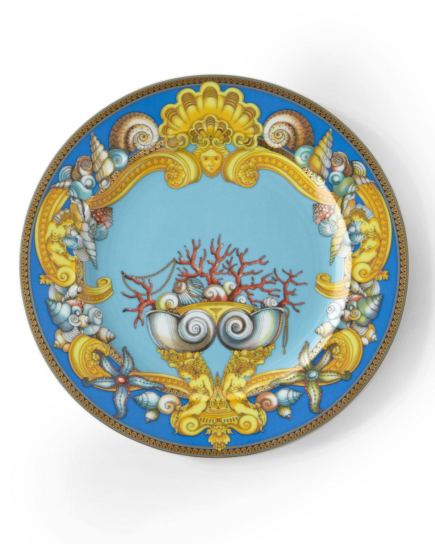 1994 Les Tresors de la Mer Dessert Plate