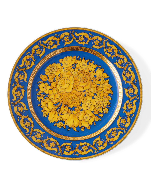 2000 Floria Blue Dessert Plate