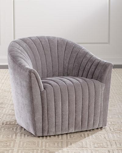 Channel Swivel Chair