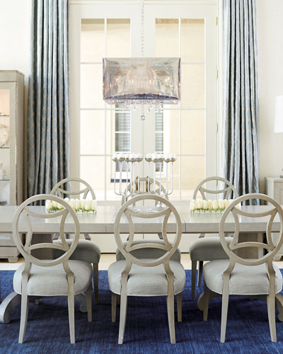 Criteria Double-Pedestal Dining Table