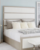 Bernhardt Axiom Tall Upholstered Panel King Bed