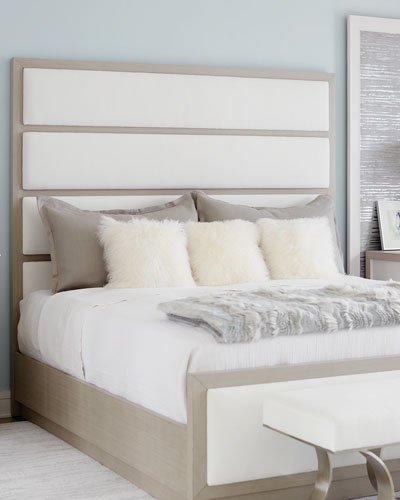 Axiom Tall Upholstered Panel Queen Bed