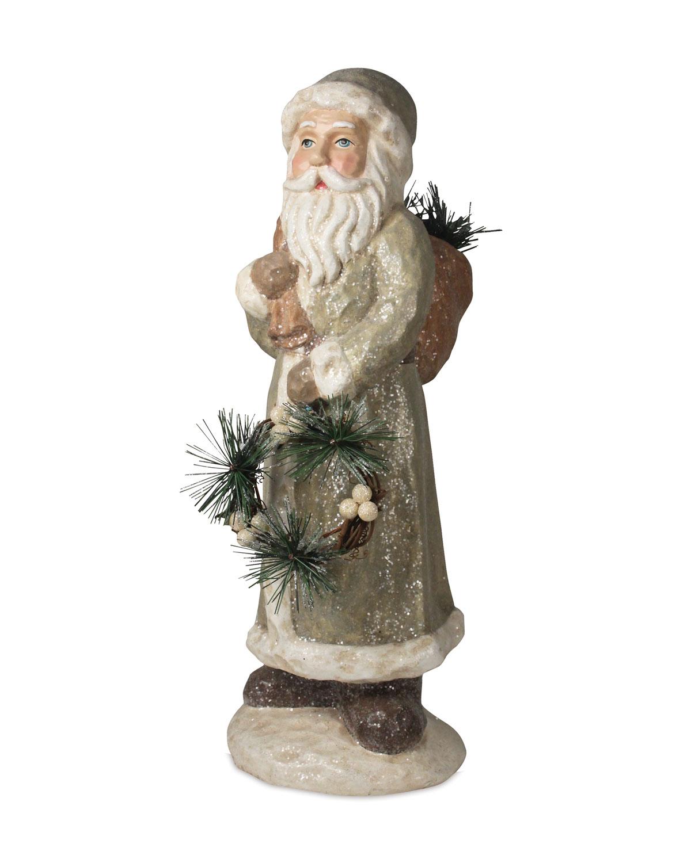 Woodland Trek Santa Statue