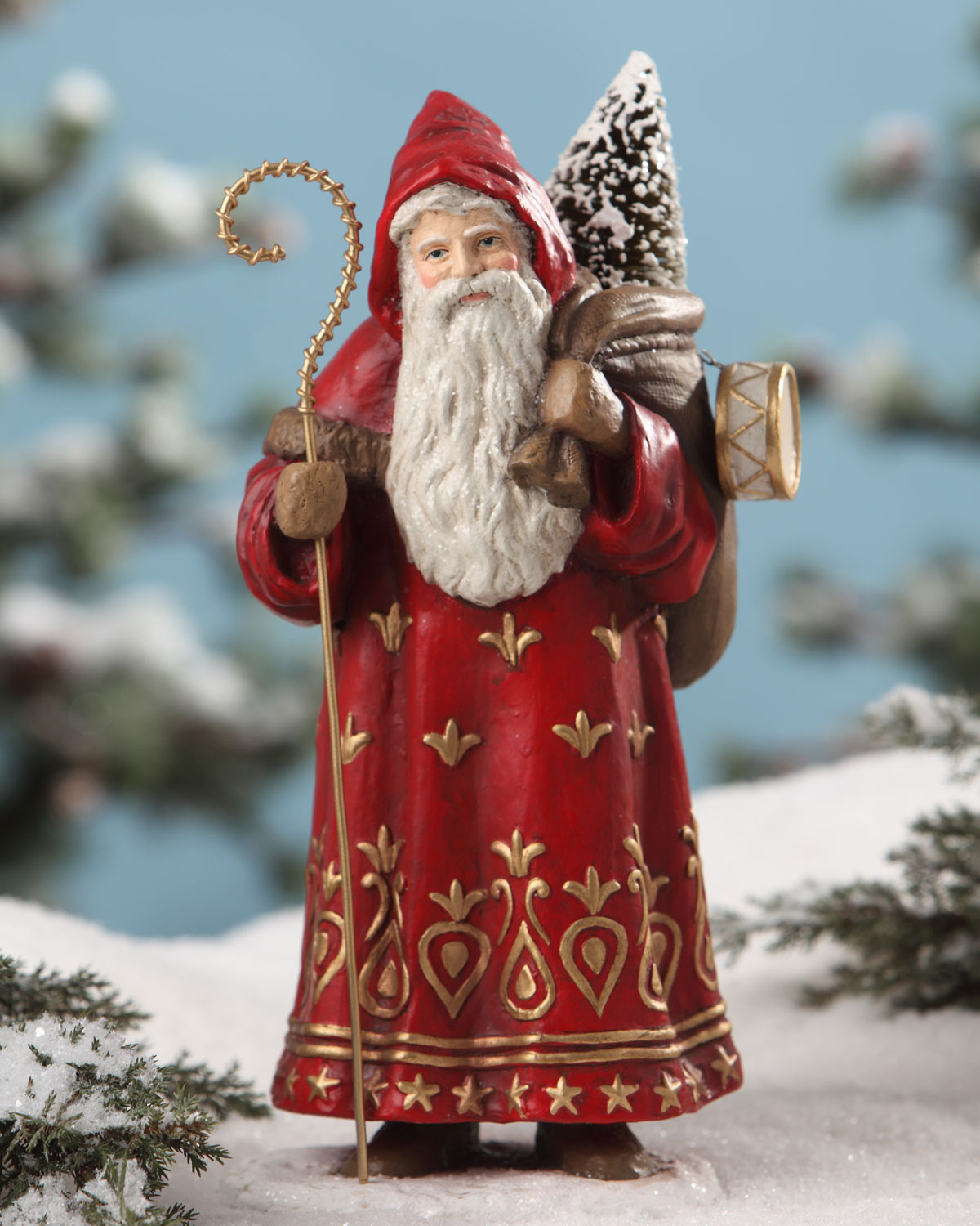 Traditional St. Nicholas Statue
